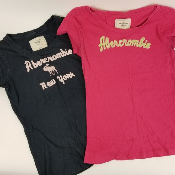 Abercrombie & Fitch Tops - 2 ABERCROMBIE SHIRTS SZ MED